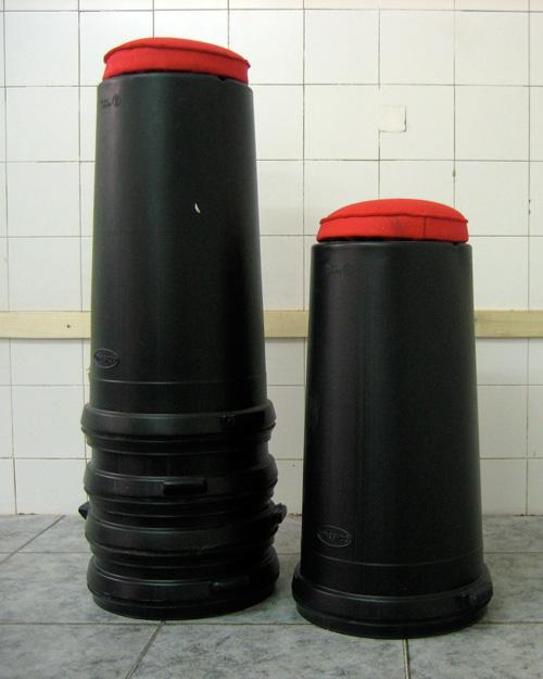 Taburete-bidón