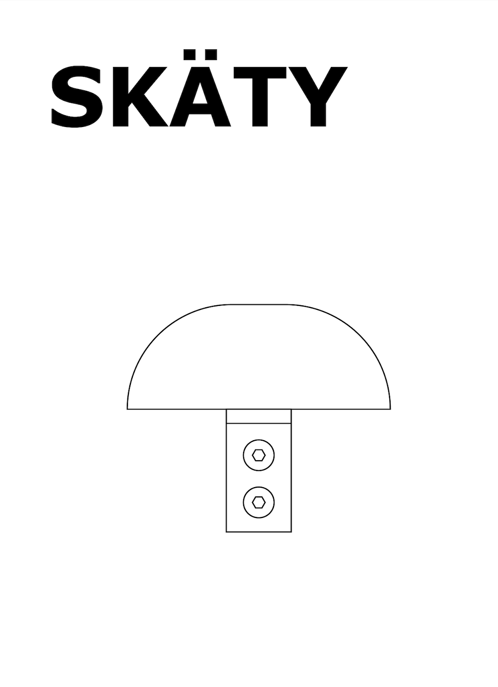 Skäty shelf