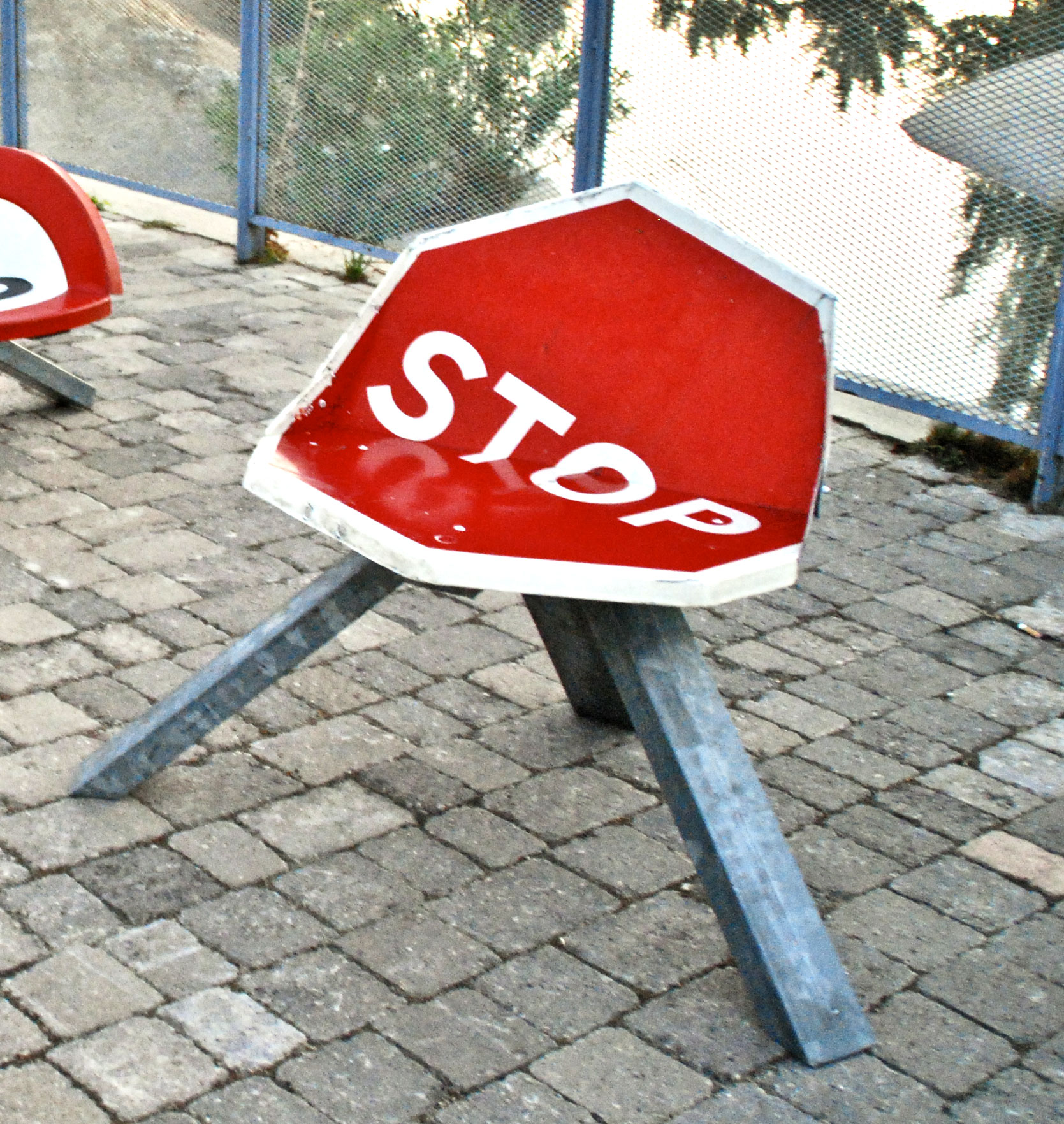 Asiento STOP